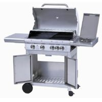 4 Main Burner Gas Grill Barbecue With 1 Side Burner