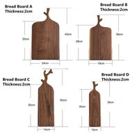 Wood Serving Fruits Bread Coffee Tray