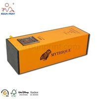 Manufacture Rigid Cardboard 750Ml Bottle Wine Storage packaging gift Box thumbnail image