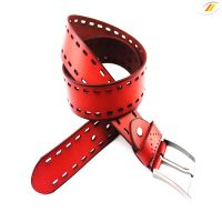 2015 High Quality Wholesale Men's Genuine Leather Belt