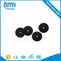 2016 Latest 15mm 13.56mhz Plastic Small button NFC Washable RFID Laundry Tag with two holes