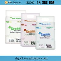 Cheap printed free sample of adult diaper