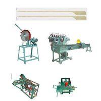 Wood bamboo barbecue stick BBQ stick skewer stick making machine manufacturing line thumbnail image