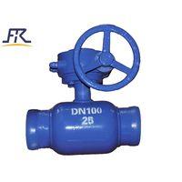 Handle Fully welded ball valve