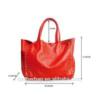 2015 ladies genuine leather famous brand handbags fashion