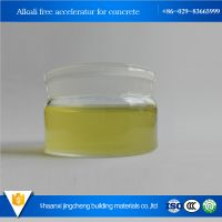 Mayotte Industry grade construction chemical admixture alkali free accelerator