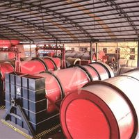 Rotary drum dryer for Sewage Sludge Drying System