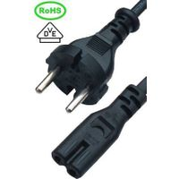 EUROPE  power cable plug with connector