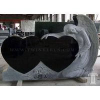 double hearted angel monument