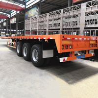 53Ft 3 Axle Flatbed Trailer for Sale in Namibia