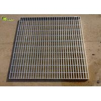 Heavy Duty Mesh Steel Bar Grating Web Forge Carbon Steel Trench Drain Floor