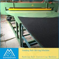 Wave S Line Abrasive Cut To Length Machine For Sanding Belt