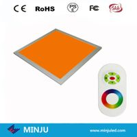600*600*12mm white or RGB color dimmable LED panel thumbnail image