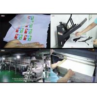 Best China Factory Supplier-Cheap Cold Peel Gloss Heat Transfer PET Film For Tagless Heat Transfers thumbnail image