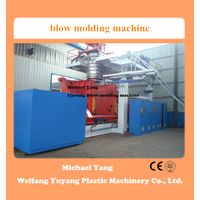 2000l 3 layers blow molding machine