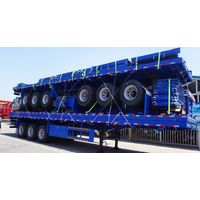 CIMC 3 Axle Livestock Fence Semi Trailer for Sudan