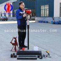 mini soil sampling drilling rig/lightweight 20m impact drill machine /no pollution waterless thumbnail image