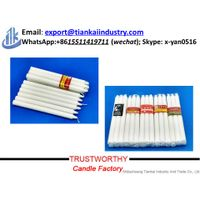 White Stick Candle for Home Decoration thumbnail image