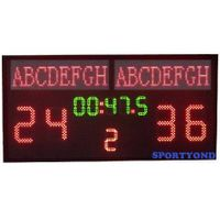 Electronic football scoreboard