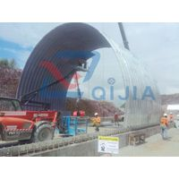 Half circle large span corrugated steel arch culvert for tunnel liner