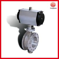 D643W-1 Butterfly Valve with pneumatic actuator
