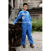 mechanic 100% cotton workwear coverall for mens thumbnail image