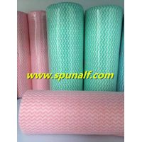 Cheap Custom printed soft  spunlacenonwovenfabric