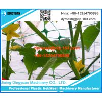 plant climbing frame net making machine