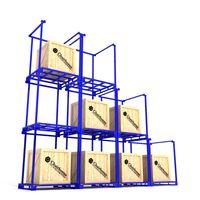 Powder Coating Mold Storage Racks Lightweight Shelving Display Rack