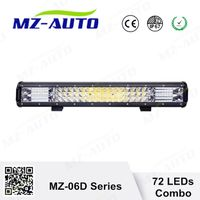 "MZ new sales 108W led offroad light bar COMBO 19.8"" straight Three Row Guangzhou SUV ATV"