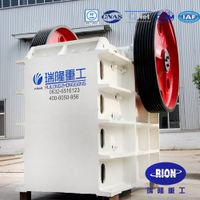 2016 high efficiency and energy saving jaw crusher through IOS certification