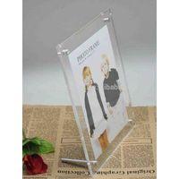 custom transparent acrylic photo frame 4x6 5x7 8x10 a4