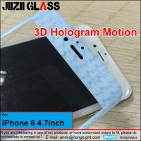 Jiizii Glass 2016 3D Hologram Motion Full Coverage Tempered Glass Screen Protector For iPhone 6