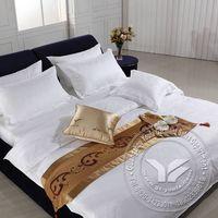100% cotton White Luxury bedding set thumbnail image
