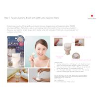 Japan Made Facial Cleansing Brush with 300K ultra-tapered fibers thumbnail image