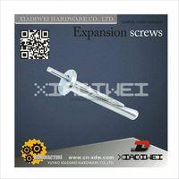 Hammer nail or safety nail tie wedge anchor