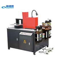Three in one CNC hydraulic busbar Cutting punching machine CNC bending machine