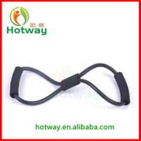 High Quality 8 Shape Resistance Band AB Chest Soft Expander Body Building Fitness TPR Expander