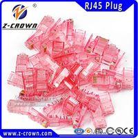 high quality cat5e connectors RJ45 UTP connectors