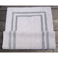 100% COTTON REVERSIBLE BATH MAT