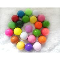 Colorful Mini Golf Balls Training Practice Golf Ball with Two Layer thumbnail image