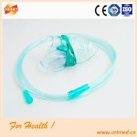 Size S, M, L high quality disposable with or without nebulizer oxygen mask