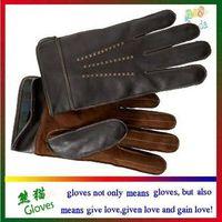 mens gloves rubbit fur gloves