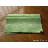 coated microfiber cloth