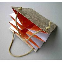 Folding jewelry paper bags ZD-1344 thumbnail image
