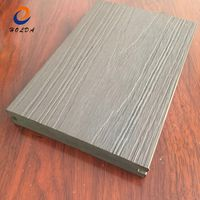 Co-extruded WPC Composite Decking Boards For Outdoor Floor Covering