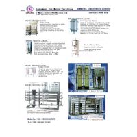 Water purifying/filtering/bottling equipment
