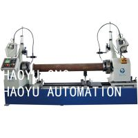 Automatic steep pipe welding machine mig welding pipe flange