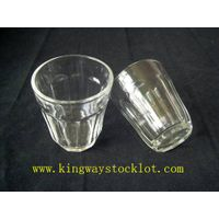 stocklots glass cups,closeout glass cups,overstock glass cups,
