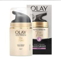 Olay Total Effects Anti-Ageing 7in1 Night Firming Moisturiser 50ml